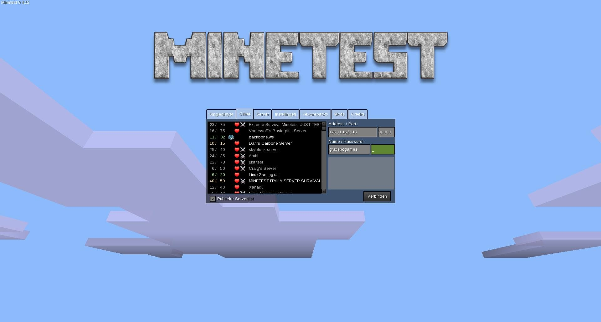 Minetest Download