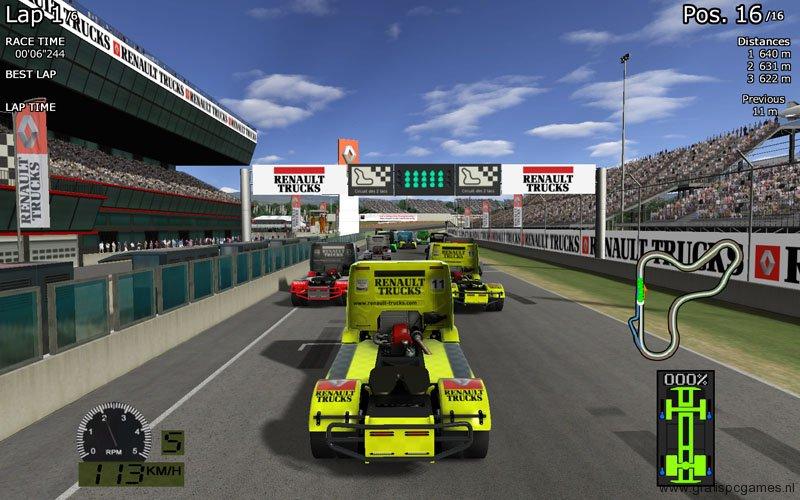 games truck racing